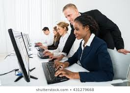 Computer training going on as a way to curb the problem of computer illiteracy among students particularly jambites